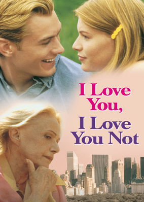 Netflix box art for I Love You, I Love You Not