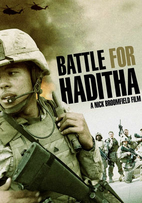 Netflix box art for Battle for Haditha