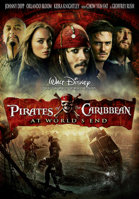 Netflix box art for Pirates of the Caribbean: At World's End