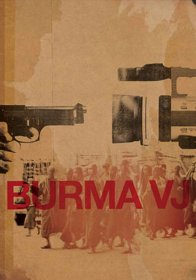 Netflix box art for Burma VJ