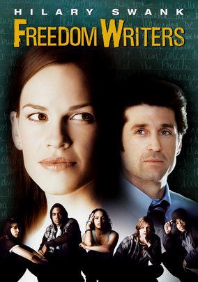 Netflix box art for Freedom Writers