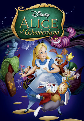 alice in wonderland disney cartoon stream