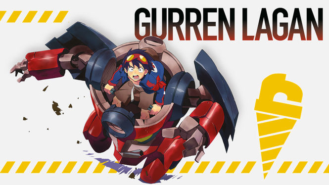 Netflix Box Art for Gurren Lagann - Volume 1