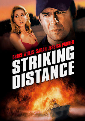 Netflix box art for Striking Distance