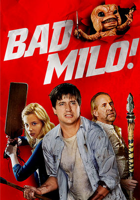 Netflix Box Art for Bad Milo!