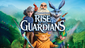 Netflix box art for Rise of the Guardians