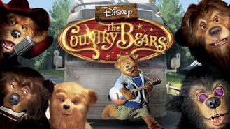 Netflix box art for The Country Bears