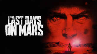 Netflix box art for The Last Days on Mars