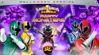 Power Rangers Samurai: Party Monsters (Halloween Special)